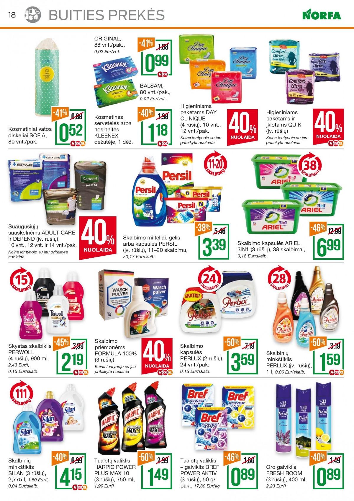 NORFA kaininis leidinys Nr.6 (2020.03.19 - 2020.04.01) page 18