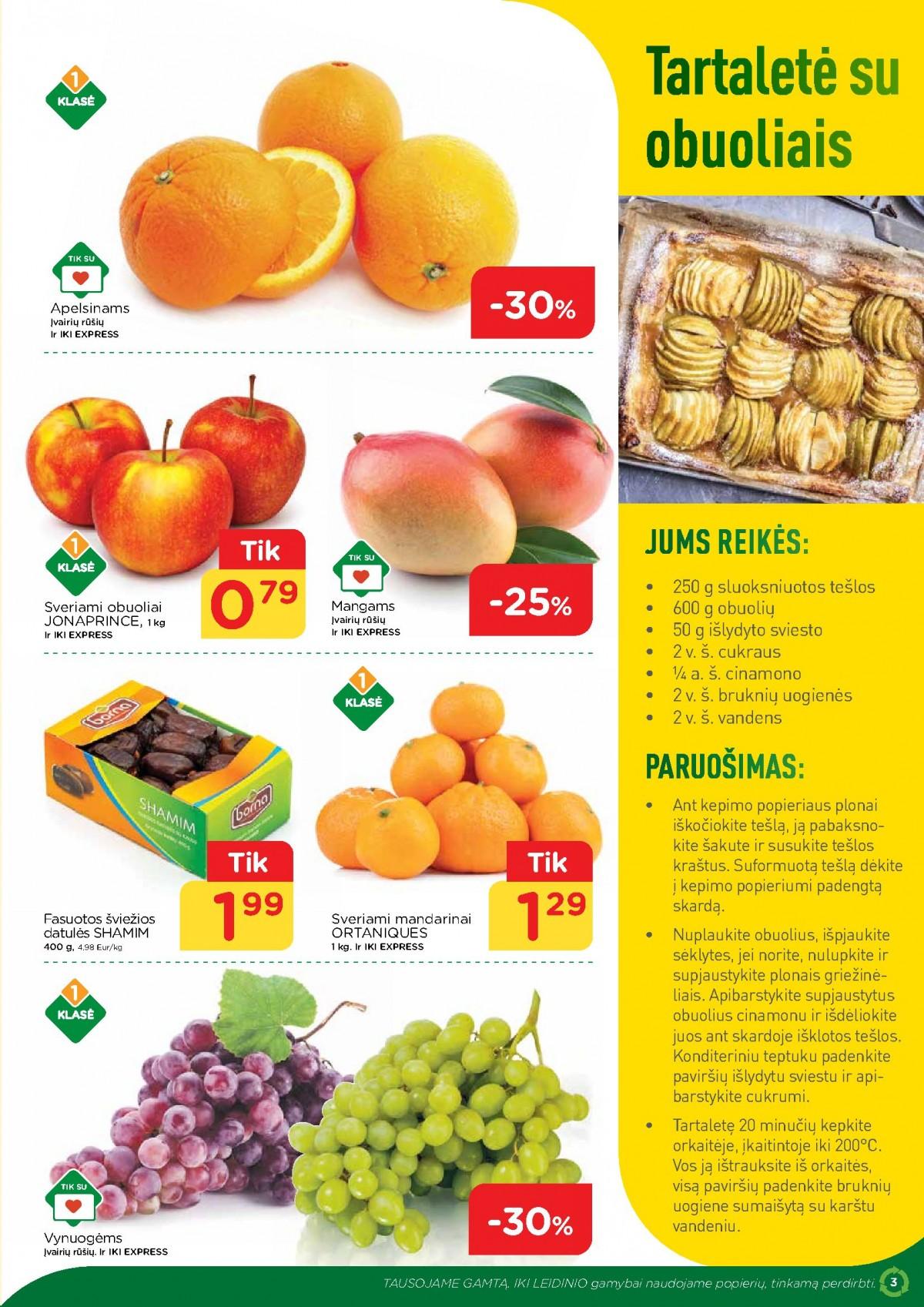 IKI šviežio maisto receptai Nr. 13 page 3