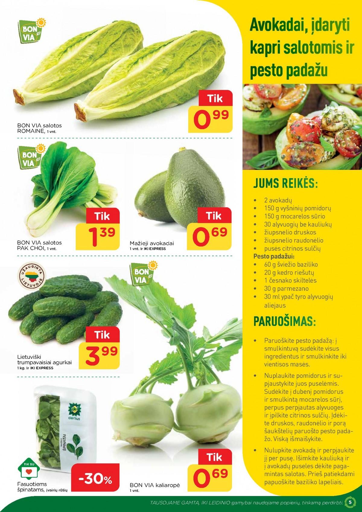 IKI šviežio maisto receptai Nr. 13 page 5