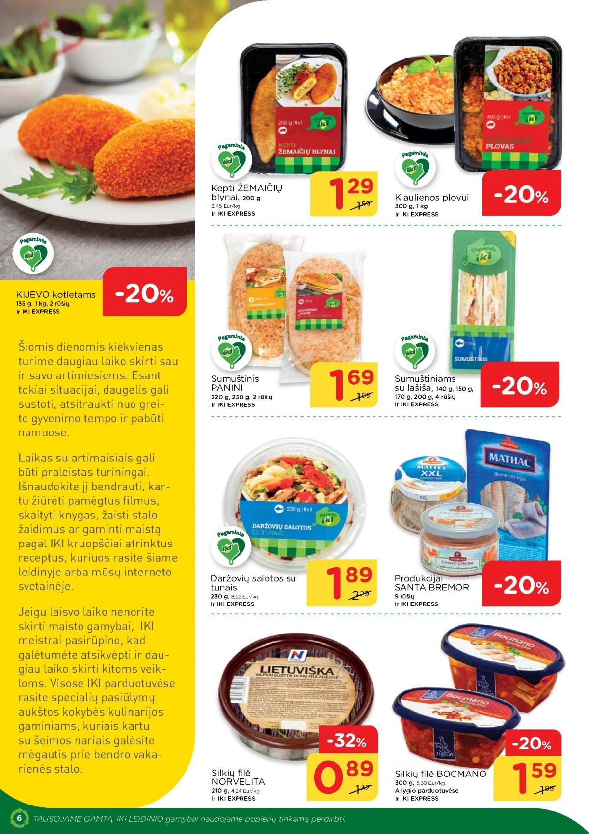 IKI šviežio maisto receptai Nr. 13 page 6