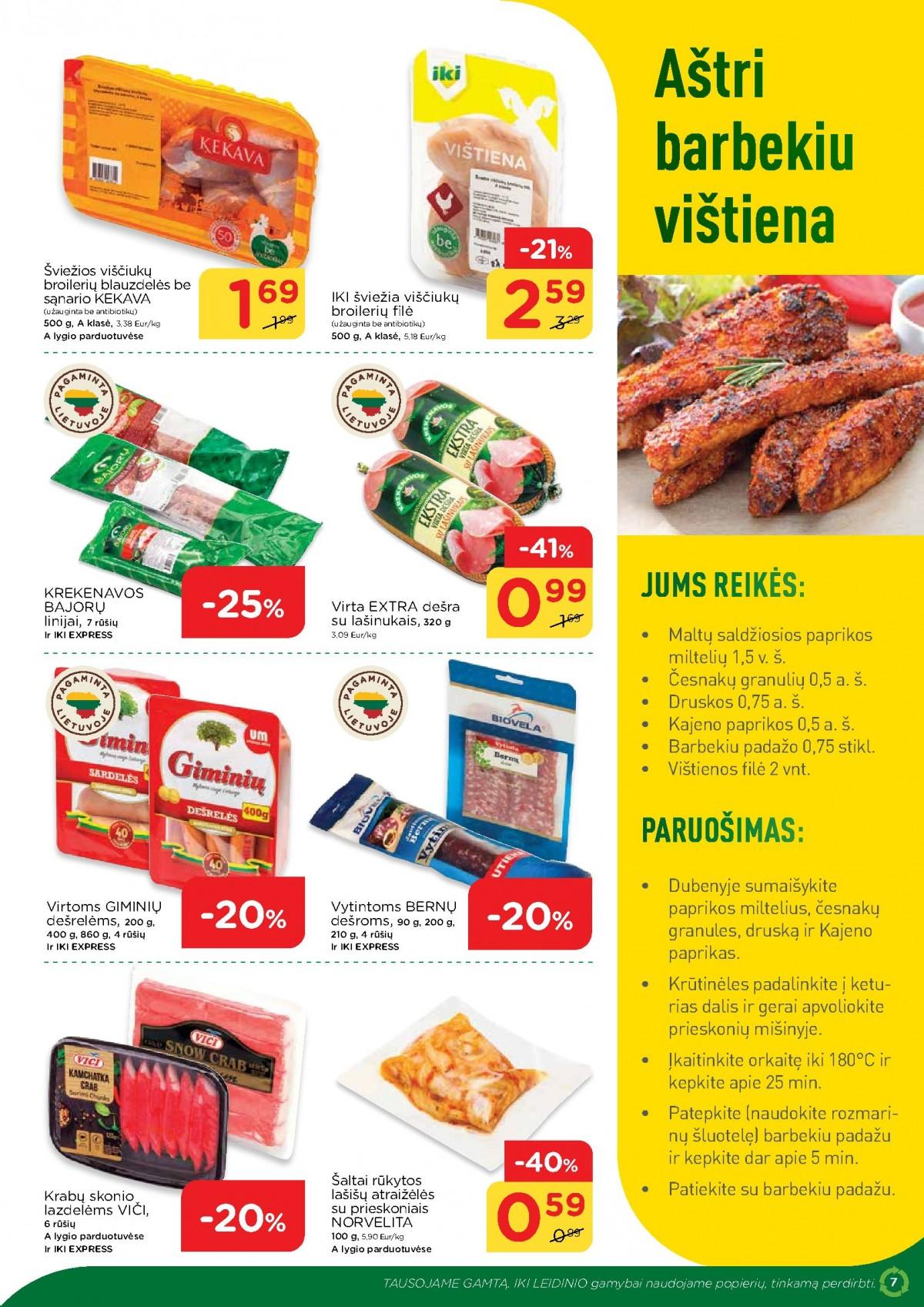 IKI šviežio maisto receptai Nr. 13 page 7