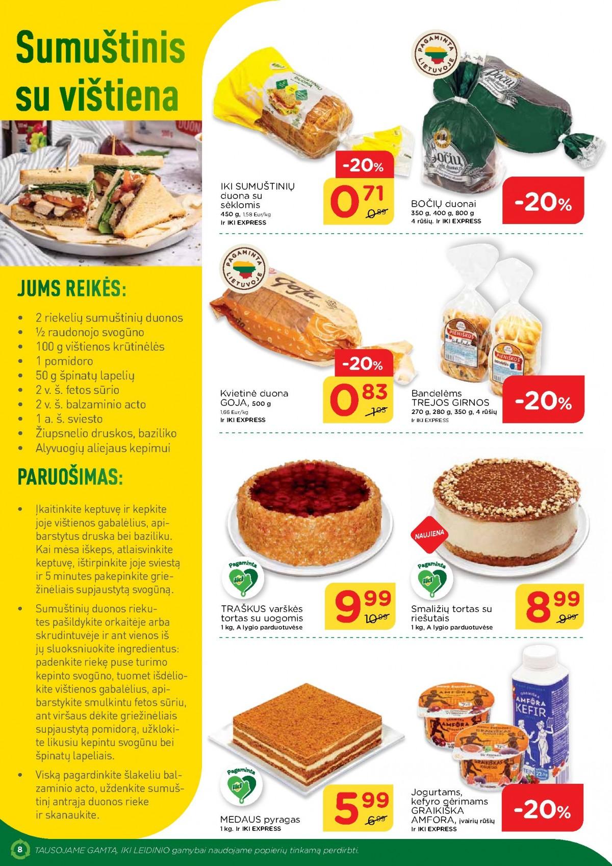 IKI šviežio maisto receptai Nr. 13 page 8