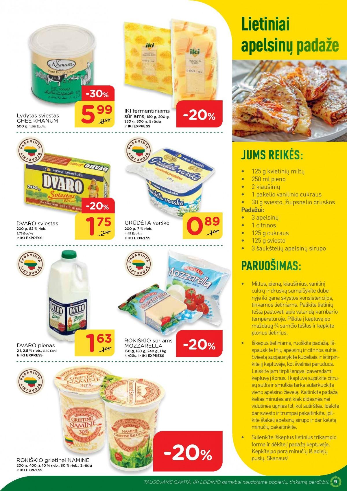 IKI šviežio maisto receptai Nr. 13 page 9