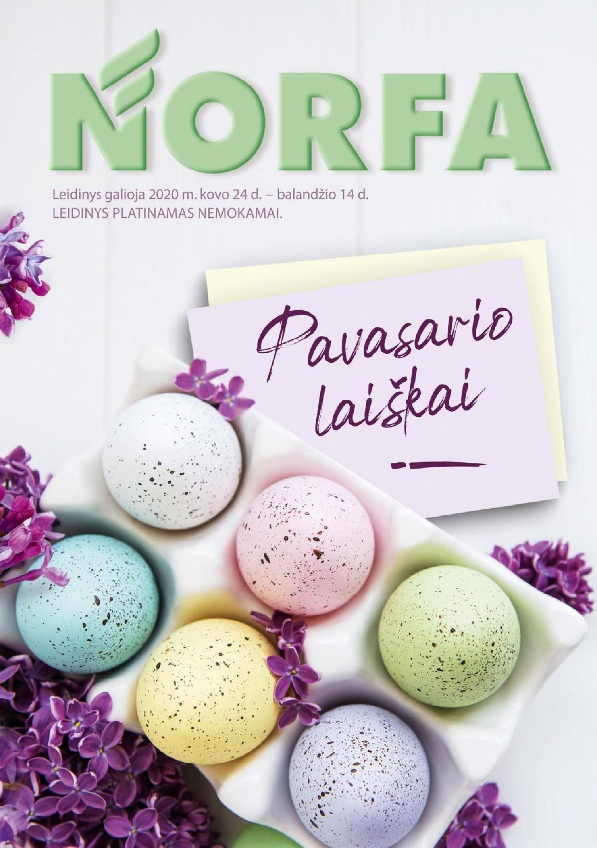 NORFA-VELYKINIS kaininis leidinys (2020.03.24 - 2020.04.14) page 1