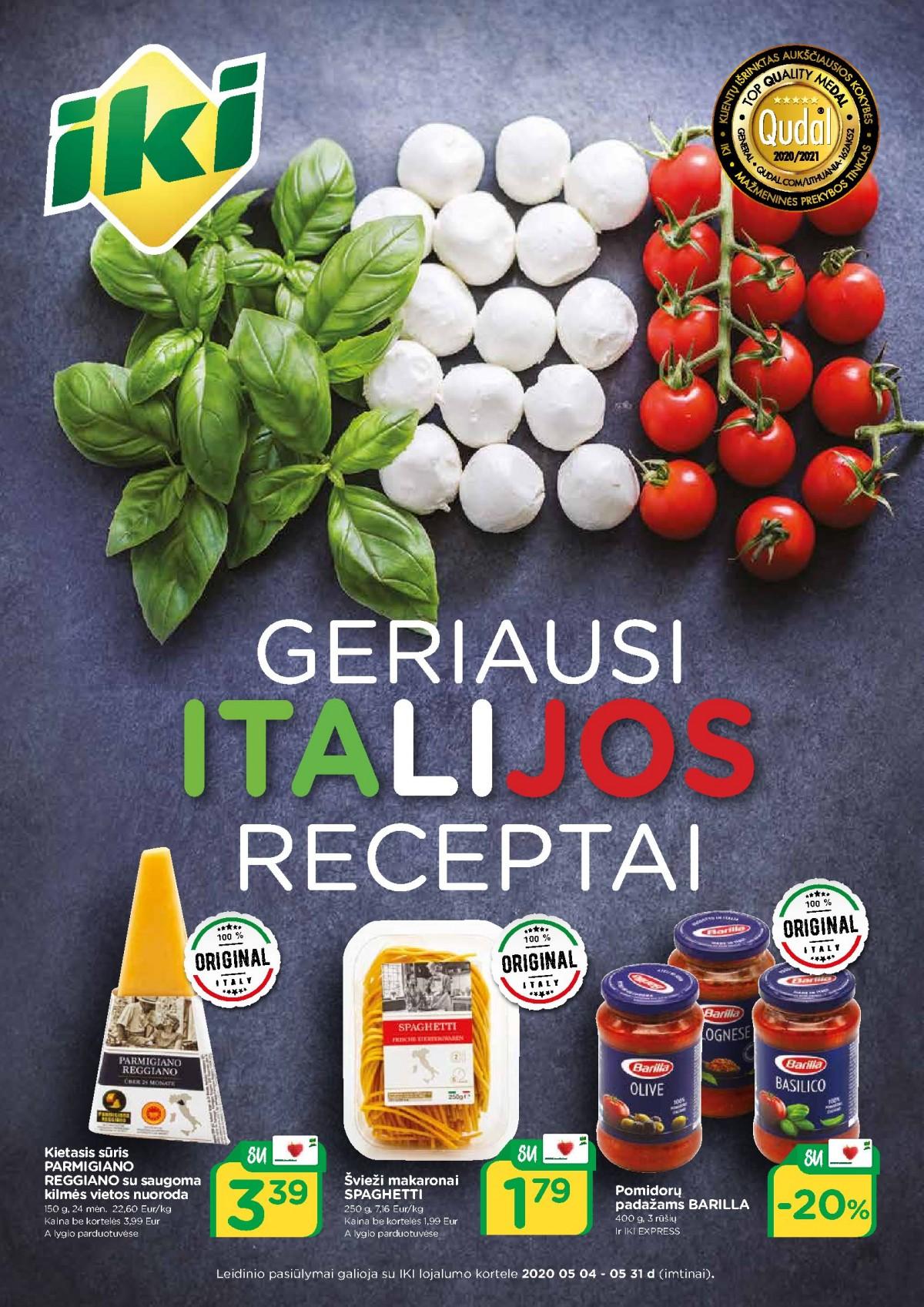 Geriausi Italijos receptai page 1