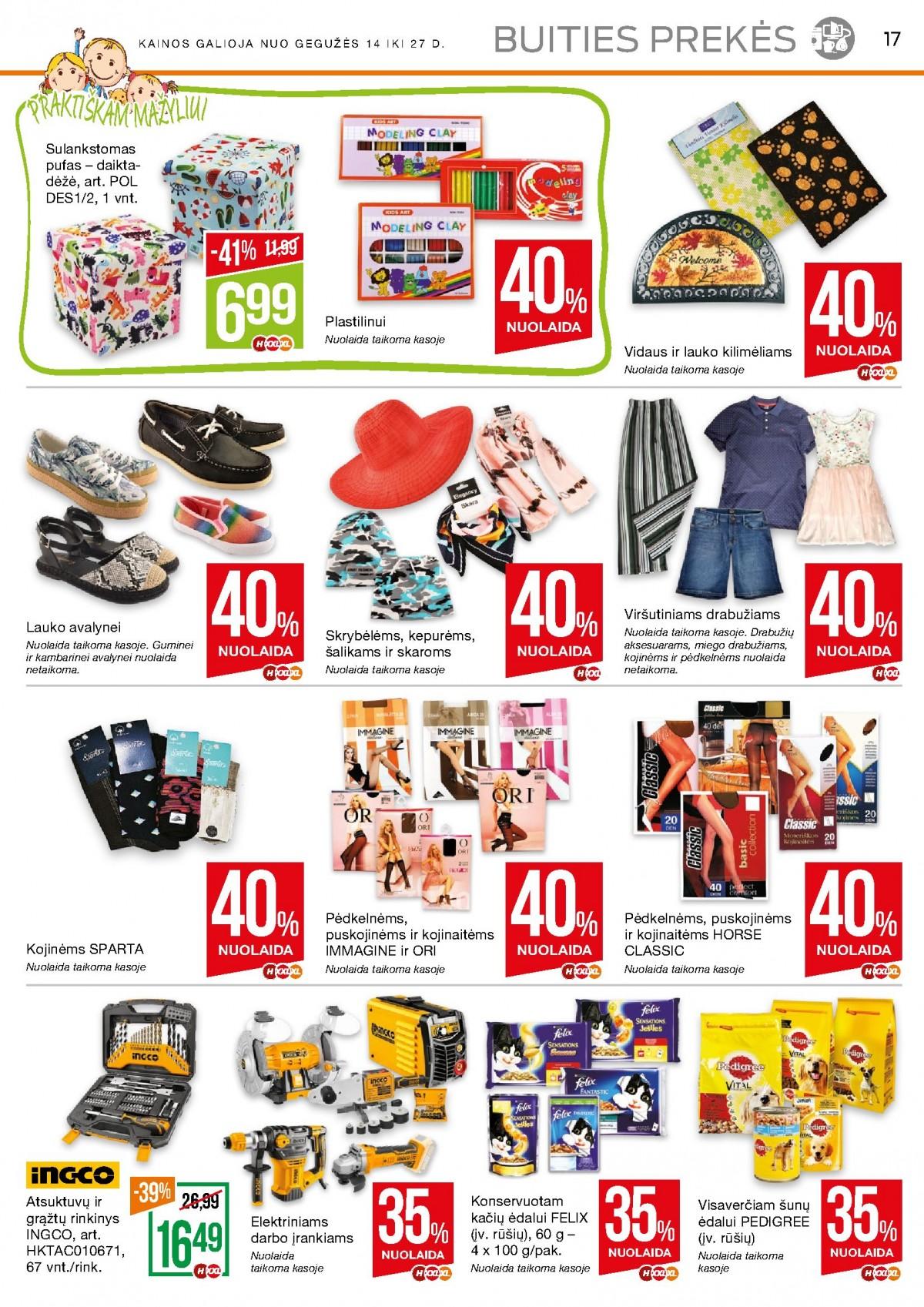 NAUJAS! NORFA kaininis leidinys Nr.9 (2020.05.14- 2020.05.27) page 17