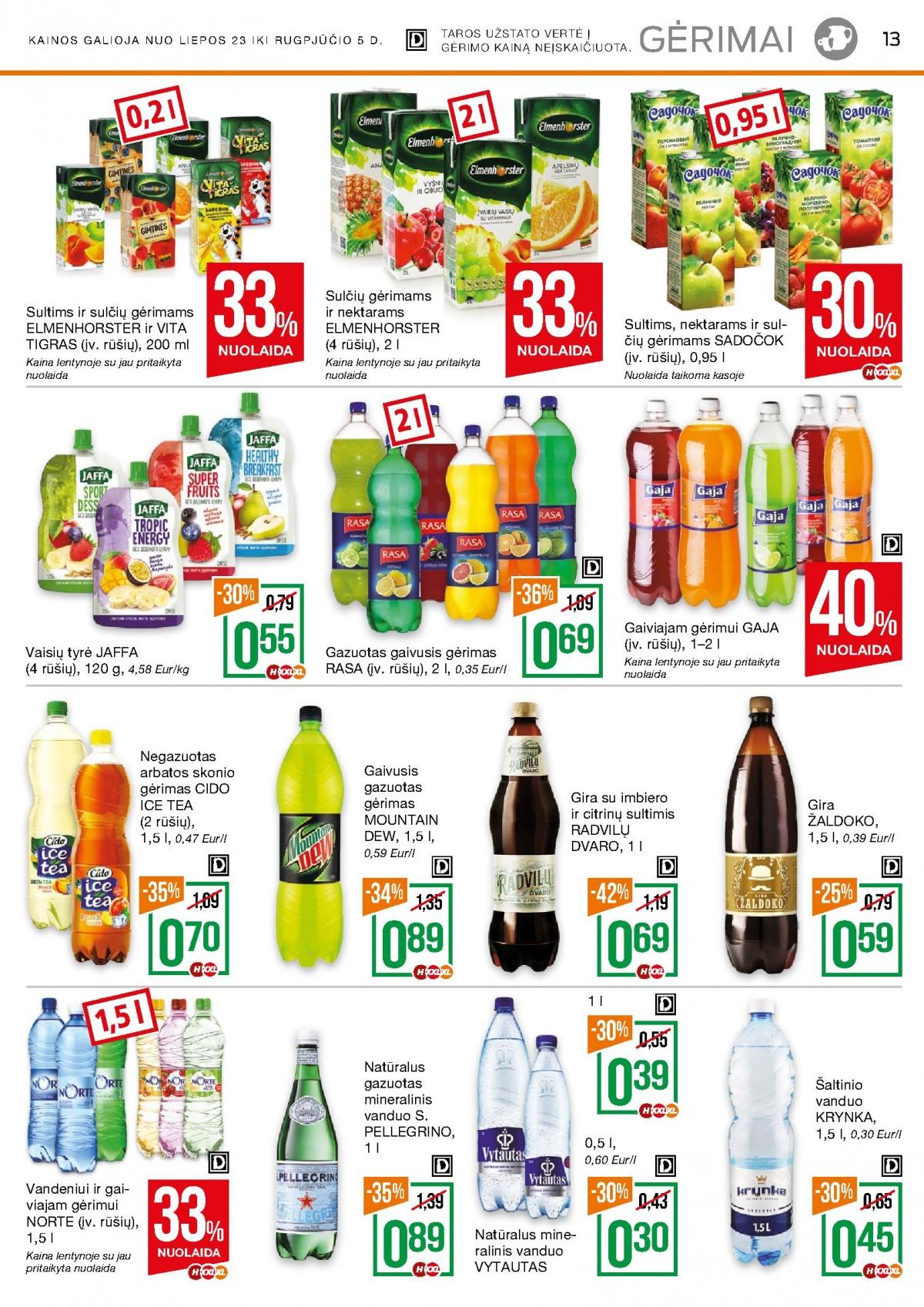 NAUJAS NORFA kaininis leidinys Nr.14 (2020.07.23- 2020.08.05) page 13