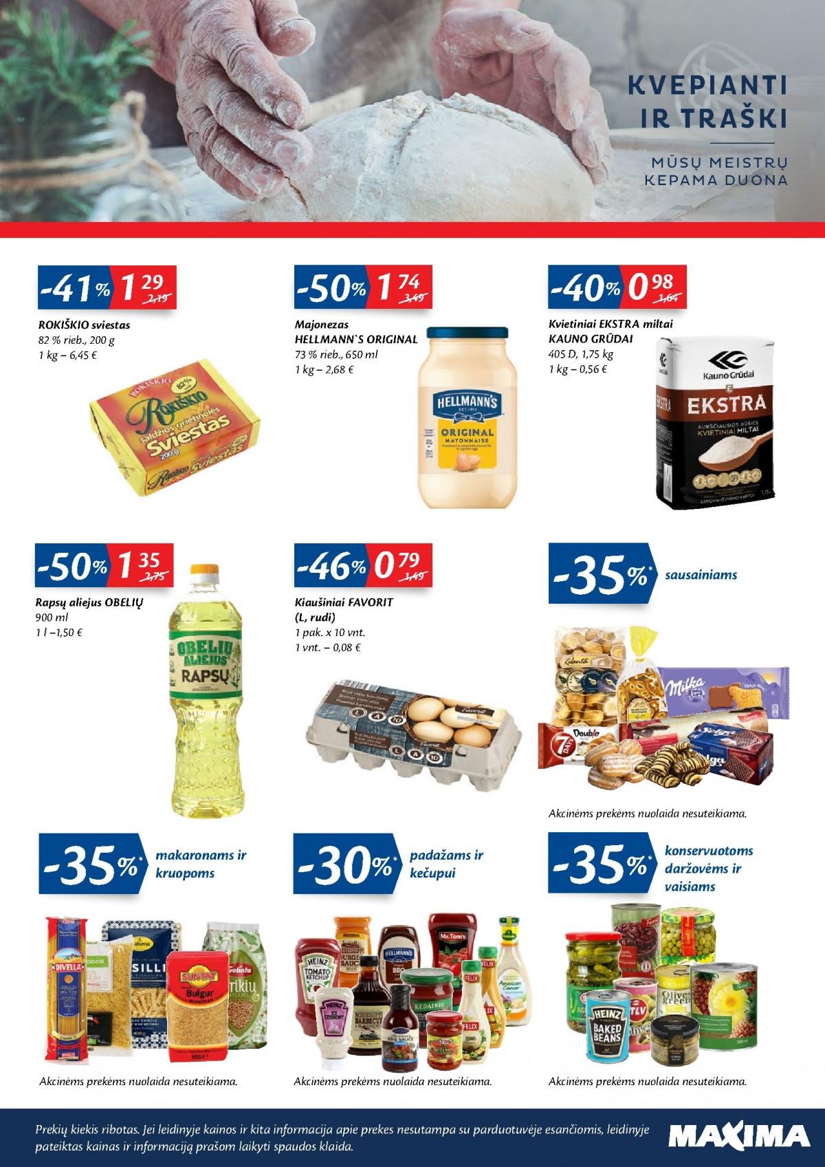 Atnaujintos parduotuvės Eišiškėse atidarymo leidinys page 3