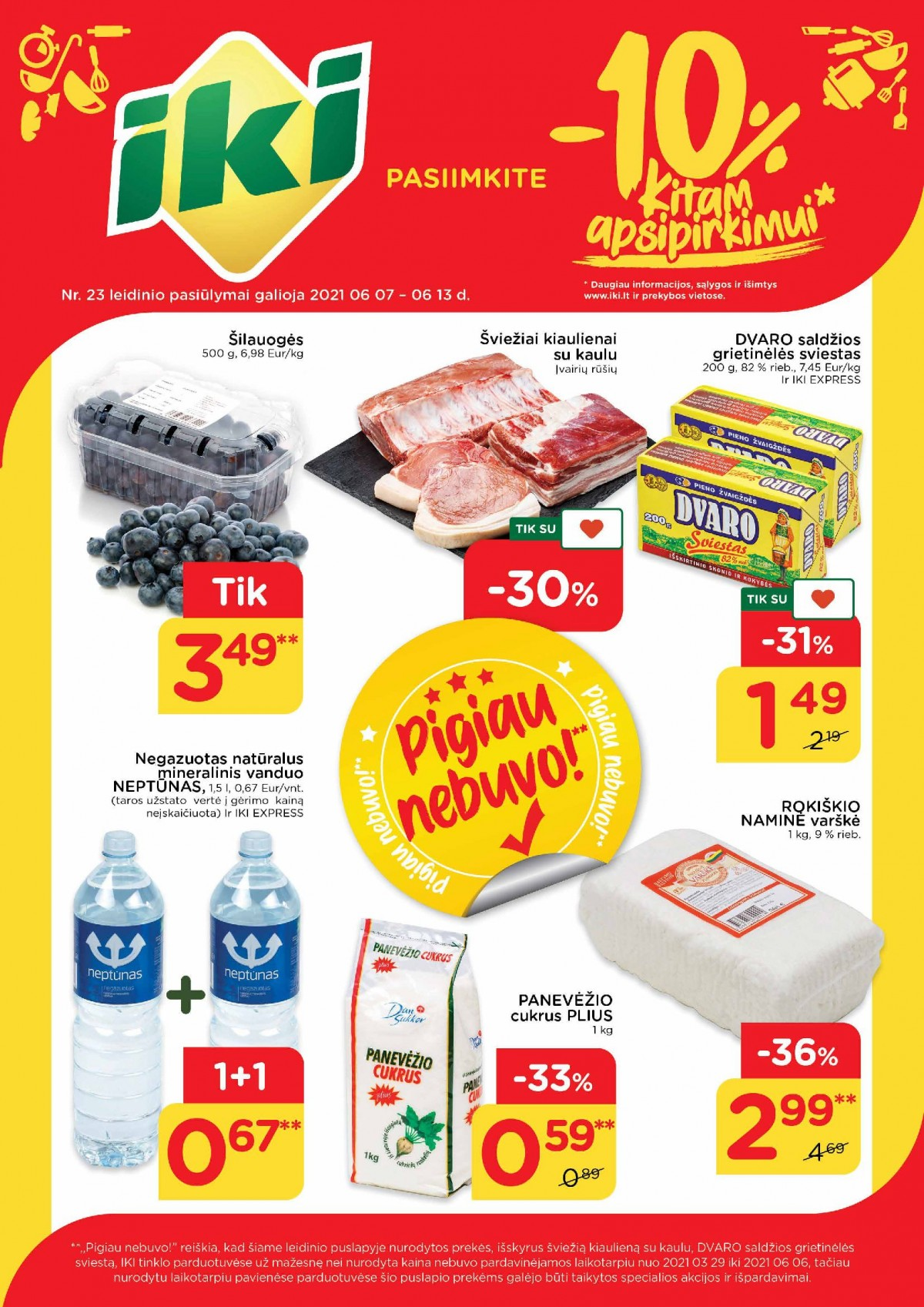 Pasiimkite 10% kitam apsipirkimui! Nr. 23 page 1