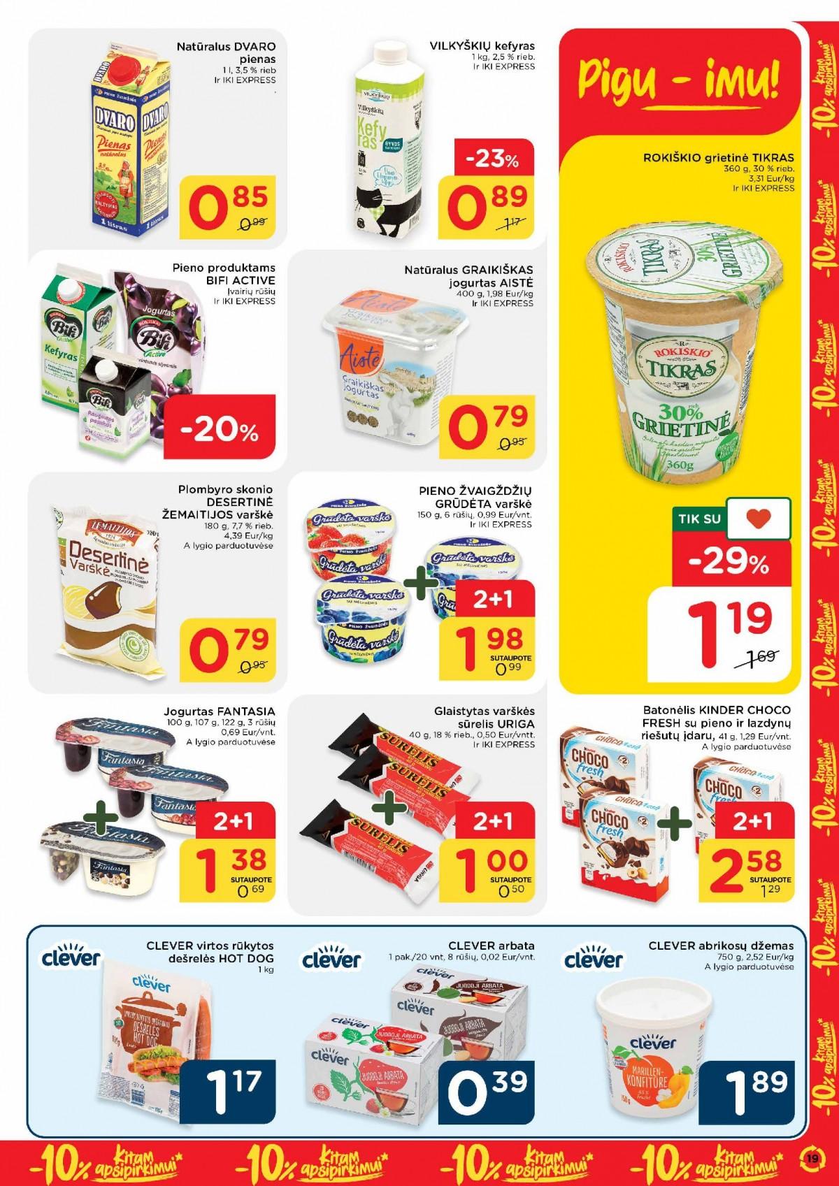 Pasiimkite 10% kitam apsipirkimui! Nr. 23 page 19