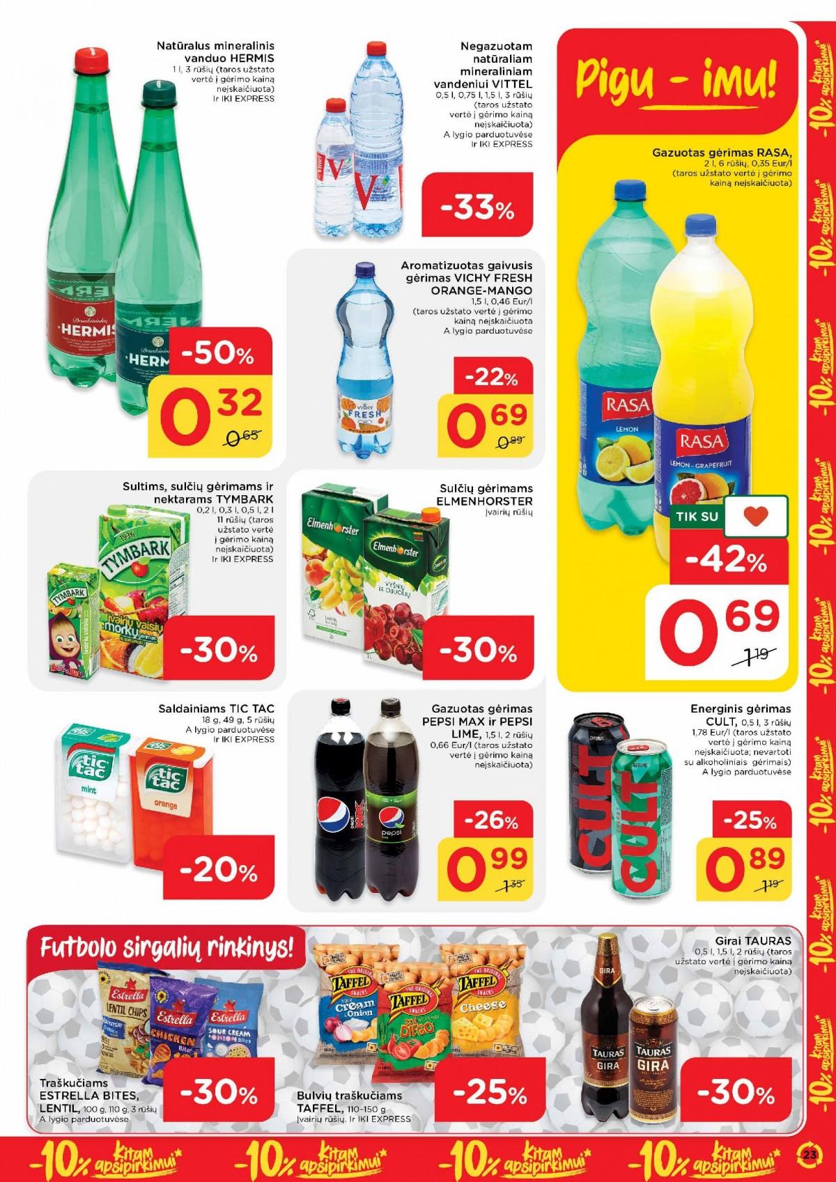 Pasiimkite 10% kitam apsipirkimui! Nr. 23 page 23