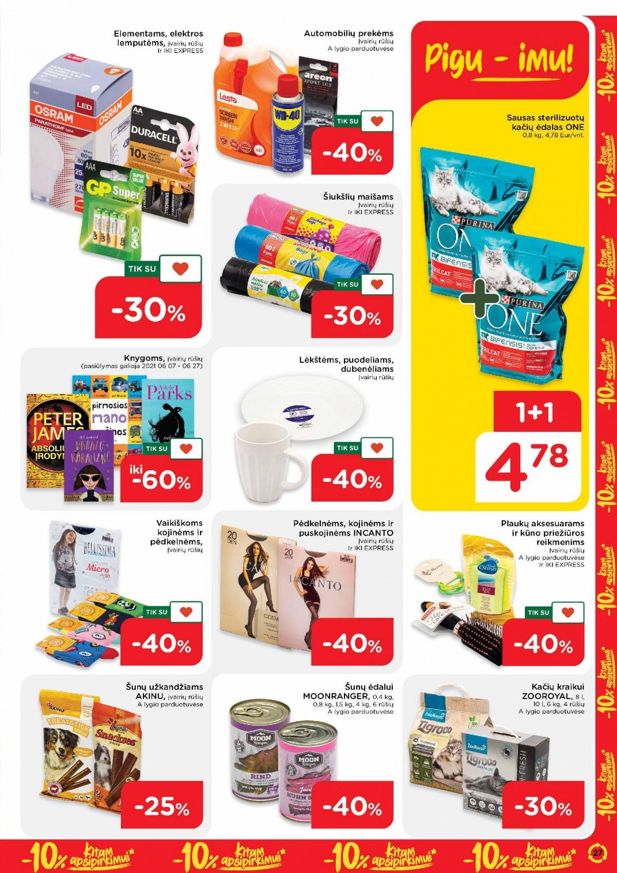 Pasiimkite 10% kitam apsipirkimui! Nr. 23 page 27